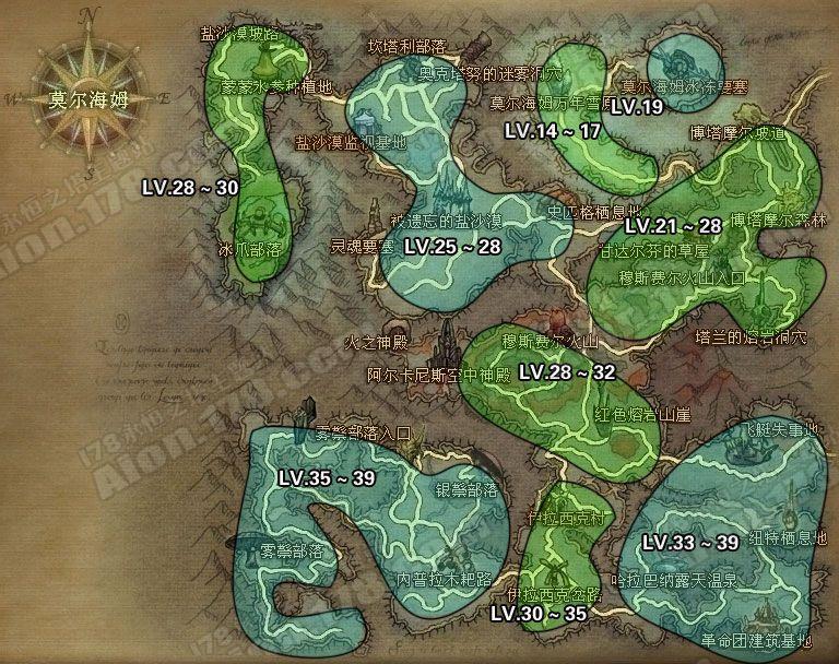 永恒之塔魔族整体地图