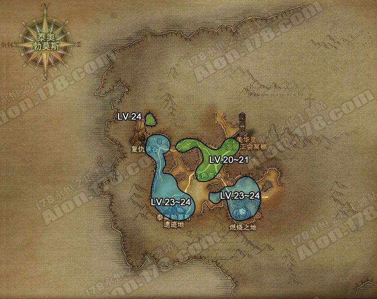 永恒之塔 深渊 地图